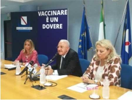 Lucia Fortini, Vincenzo De Luca, Luisa Franzese