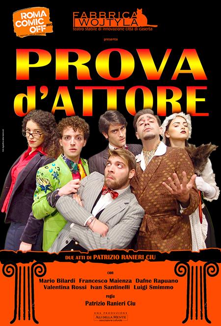 'Prova d'Attore' al Roma Comic Off