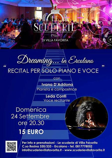 'Dreaming... in Ercolano'