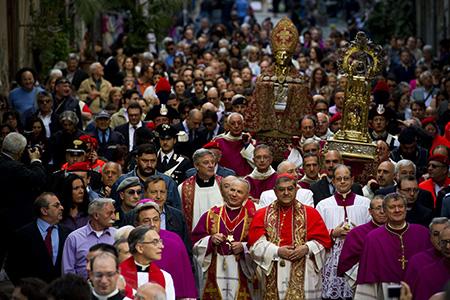 Festa di San Gennaro, Napoli