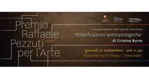 Premio Raffaele Pezzuti 2017 per l'arte