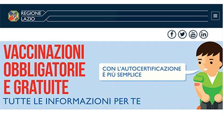 Regione Lazio Vaccini