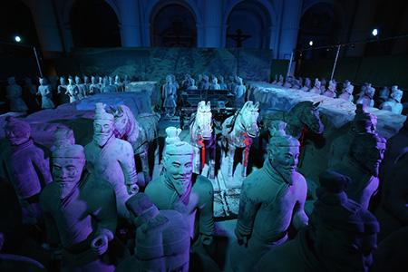 'L'esercito di Terracotta e il Primo Imperatore della Cina', ph. Mario Zifarelli