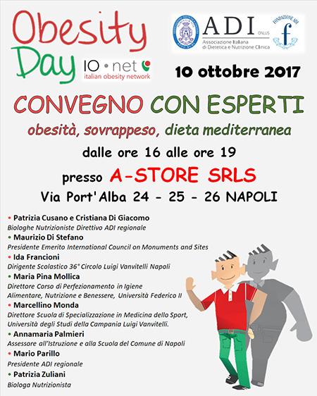 Obesity Day A-Store Srls Napoli