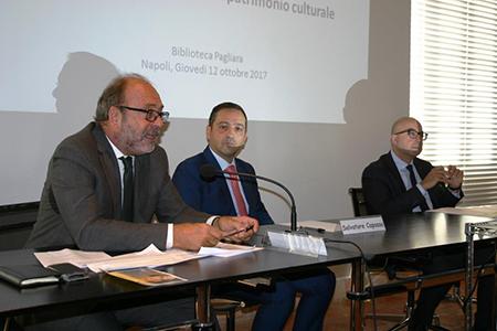 Pierluigi Leone De Castris, Salvatore Capasso e Antimo Cesaro