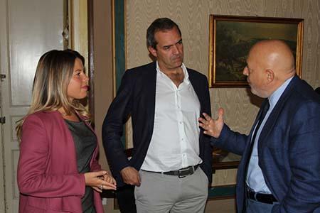 Alessandra Clemente, Luigi de Magistris e Tano Grasso