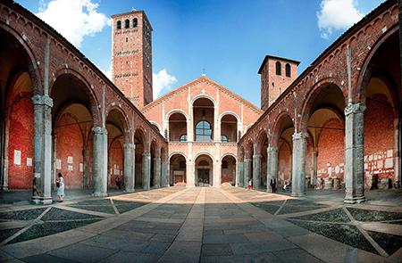 Basilica Sant'Ambrogio a Milano