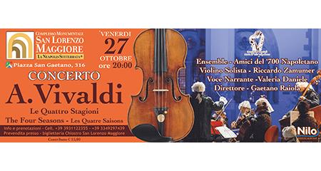 'Le quattro Stagioni di A. Vivaldi' a San Lorenzo Maggiore