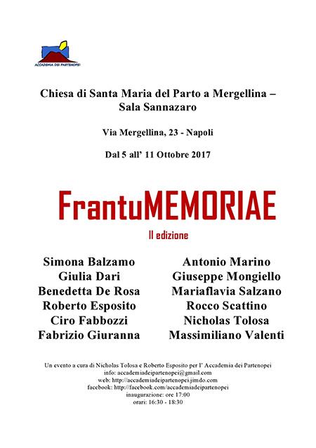 frantuMEMORIAE II edizione