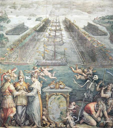 Giorgio Vasari, 'La battaglia di Lepanto'