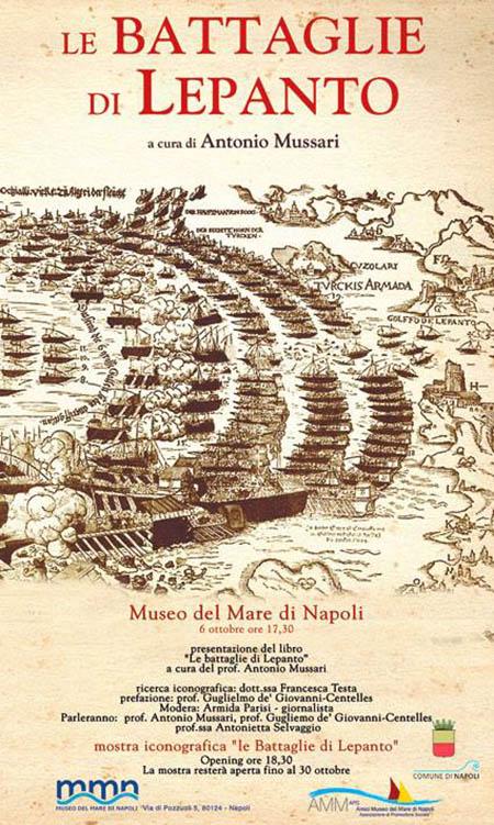 'Le battaglie di Lepanto' di Antonio Mussari