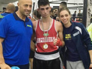 Lino Silvestri, Davide Saraiello e Angela Saraiello
