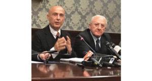 Marco Minniti e Vincenzo De Luca