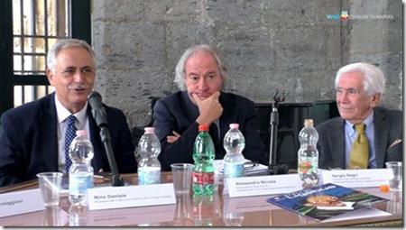 Nino Daniele, Sandro Parmiggiani e Sergio Negri