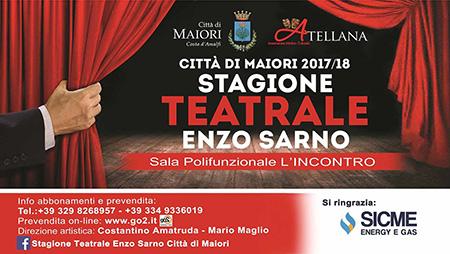 Prima stagione teatrale Enzo Sarno di Maiori