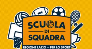 Scuola di Squadra Regione Lazio per lo sport