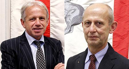 Marco Remaschi e Stefano Ciuoffo