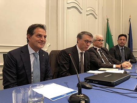 Vincenzo Moretta, Raffaele Cantone, Salvatore Varriale e Mario Michelino