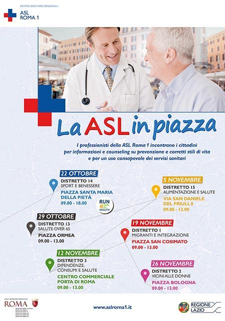 La ASL in piazza'