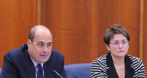 Nicola Zingaretti e Rita Visini