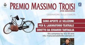 Premio Massimo Troisi: Laboratorio teatrale per i giovani del territorio
