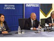Sonia Palmeri, Vincenzo De Luca e Amedeo Lepore