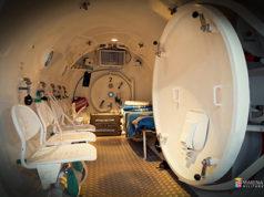 Trattamento di ossigenoterapia ph Marina Militare