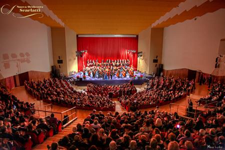 23° Concerto di Capodanno della Nuova Orchestra Scarlatti al Teatro Mediterraneo della Mostra d'Oltremare di Napoli