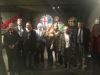 Componenti della Commissione Attività Produttive con il commendator Cozzi durante la visita al Museo