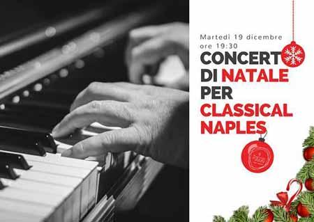 Concerto di Natale e aperitivo per Classical Naples