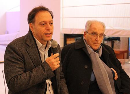 Paolo Giulierini e Marco Salvatore