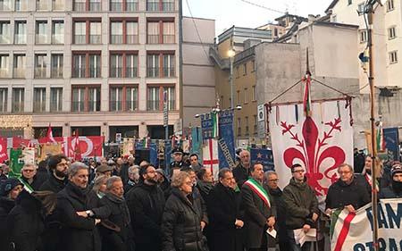 Strage di Piazza Fontana, Paolieri (PD) a Milano in rappresentanza di Firenze