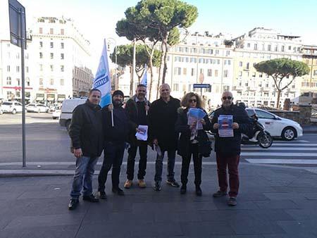 Manifestazione Ugl Roma