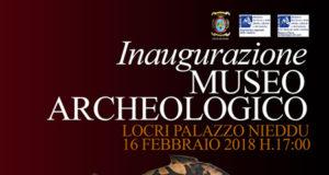 Inaugurazione Museo Archeologico Nazionale di Palazzo Nieddu del Rio, Locri (RC)