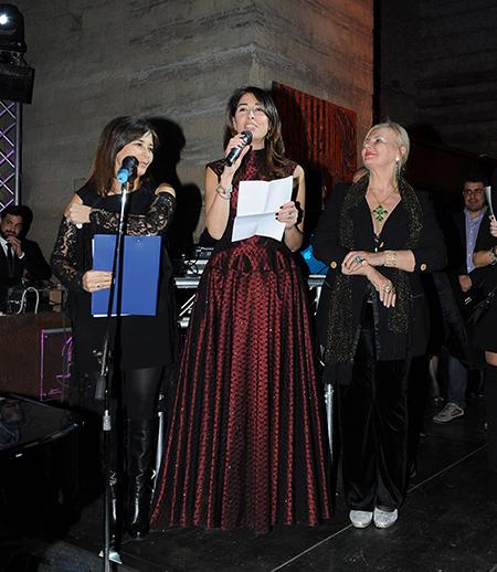 Simonetta de Chiara Ruffo, Rossella Giaquinto e Laura Caico
