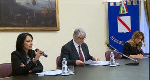 Sonia Palmeri, Giuliano Poletti e Chira Marciani