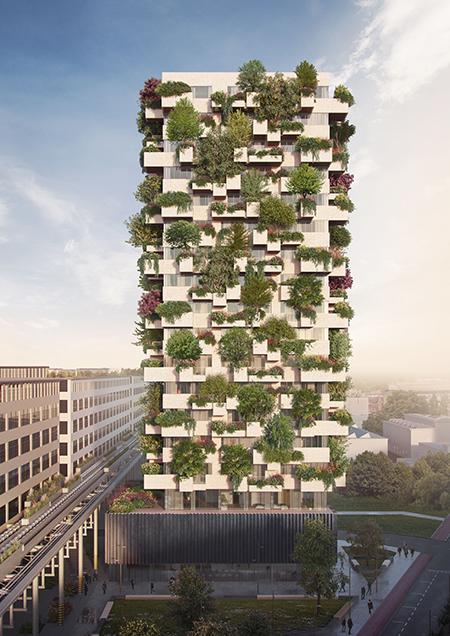 Stefano Boeri Architetti_Eindhoven Trudo Vertical Forest_2018