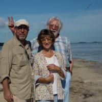 'Ella & John' il regista con gli attori protagonisti