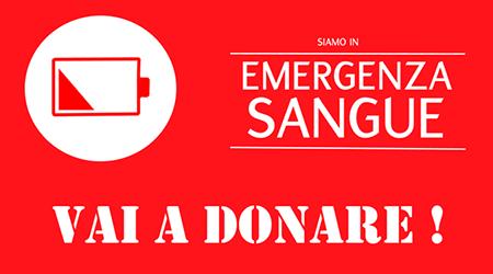 Emergenza sangue