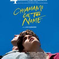 'Chiamami col tuo nome' poster