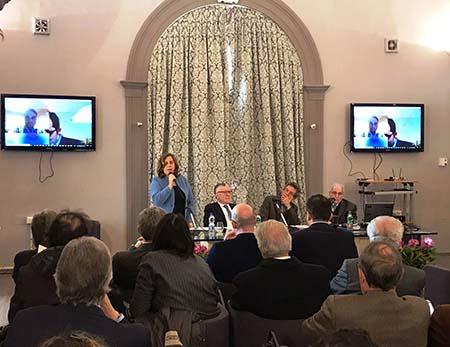 Annamaria Minicucci, Massimo Inguscio e Gaetano Manfredi
