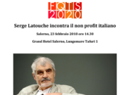 FTQS Serge Latouche incontra il non profit italiano