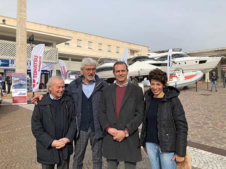 Gennaro Amato, Giuseppe Oliviero, Luigi de Magistris e Donatella Chiodo