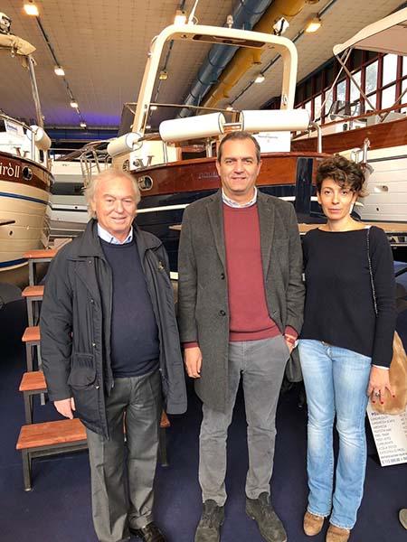 Gennaro Amato, Luigi de Magistris e Donatella Chiodo