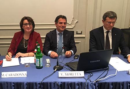 Marcella Caradonna, Vincenzo Moretta e Riccardo Izzo