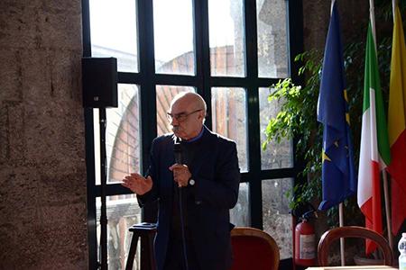 Pino Ferraro al Maschio Angioino, Napoli
