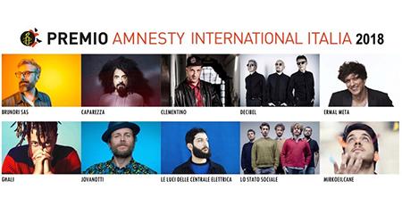 Premio Amnesty International Italia 2018