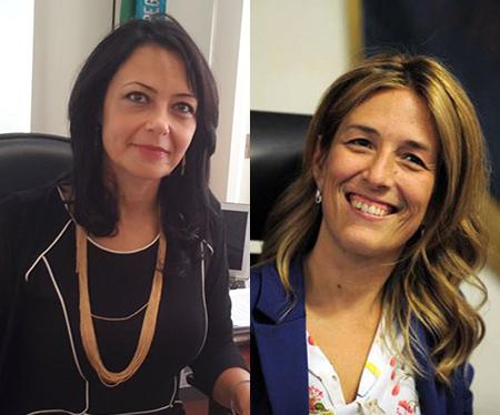 Sonia Palmeri e Chiara Marciani