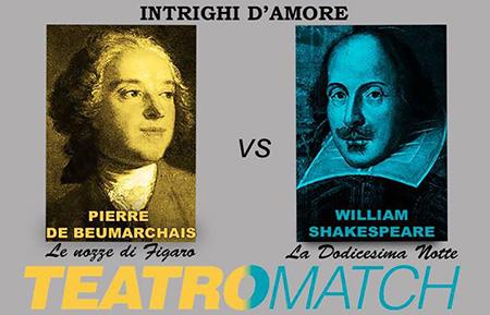Teatro Match Beaumarchais vs Shakespeare