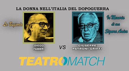 Teatro Match Fabbri vs Patroni Griffi